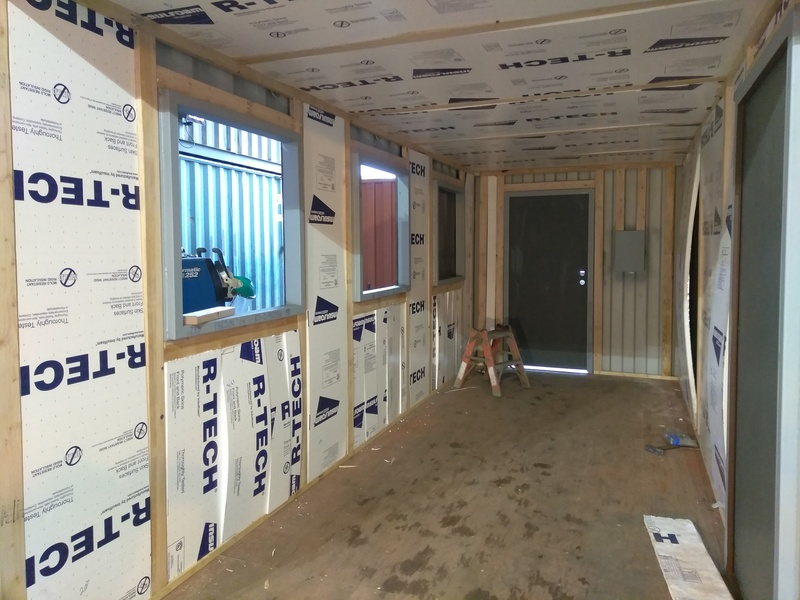Shipping Container Insulation Gallery