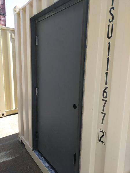 Shipping Container Man Door Gallery