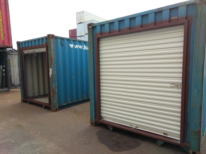 Shipping Container Rollup Door Gallery