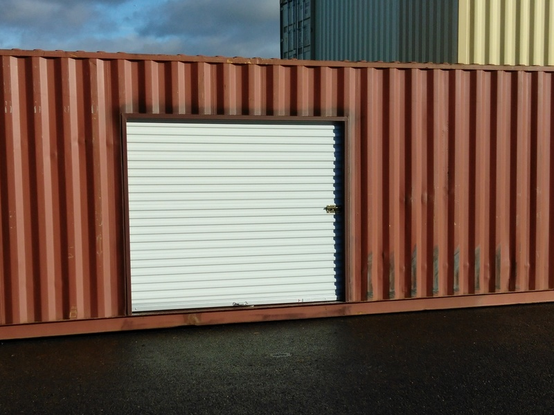 Shipping Container Roll Up Door 2