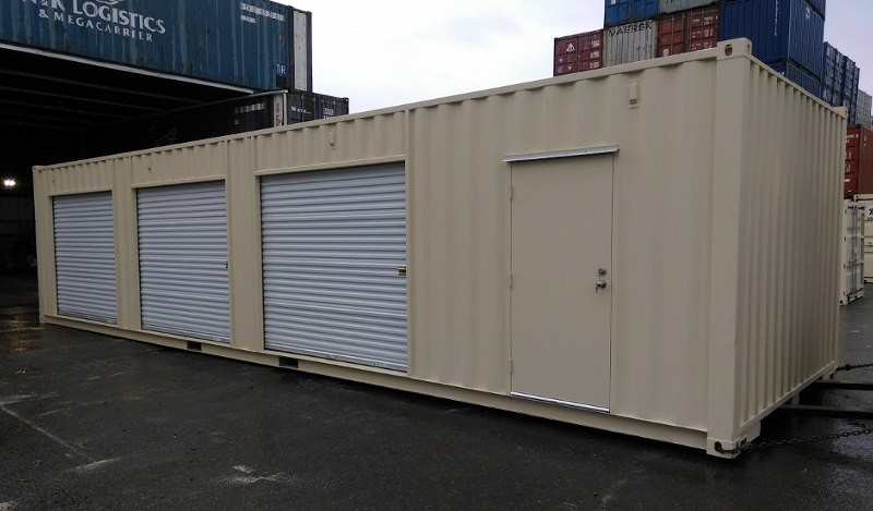 12 Foot Wide Shipping Container Mod