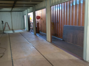 12' wide shipping container roll up doors
