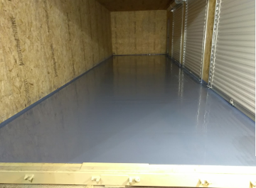 12' wide Shipping Container steel floor