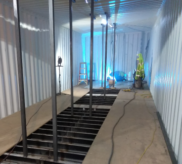 12' Shipping Container Welding
