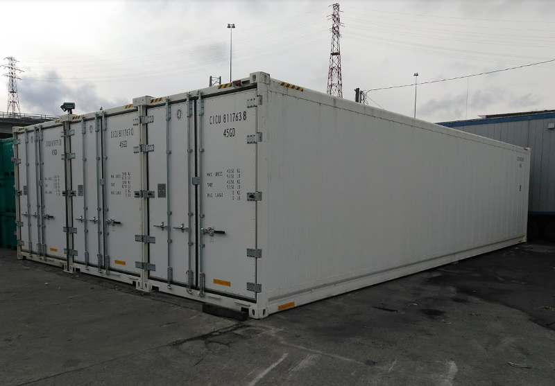 24 Foot Wide Refrigerated Shipping Container