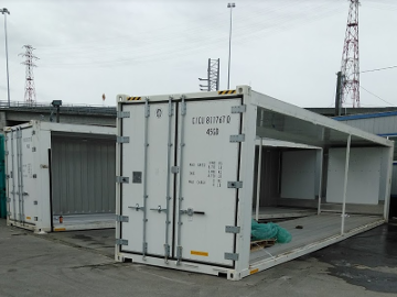 24' Shipping Container Freezer
