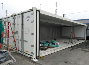 24ft cold storage container
