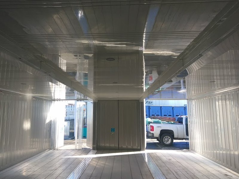 24 Foot Wide Reefer Shipping Container