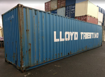 45ft storage container