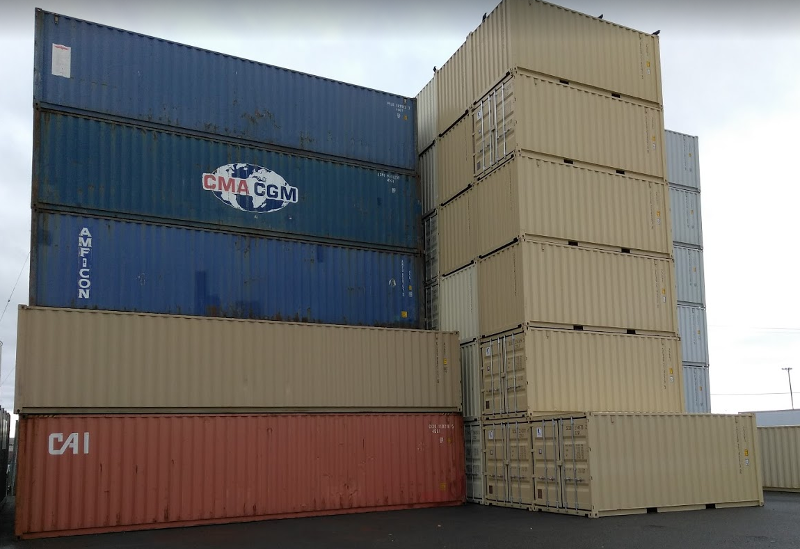 Cargo worthy shipping container