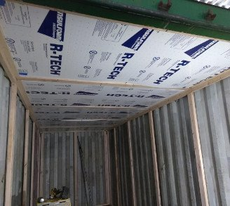 Shipping Container Insulation Foam