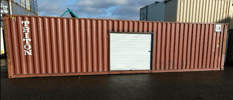 Shipping Container Roll Up Doors Container Modification