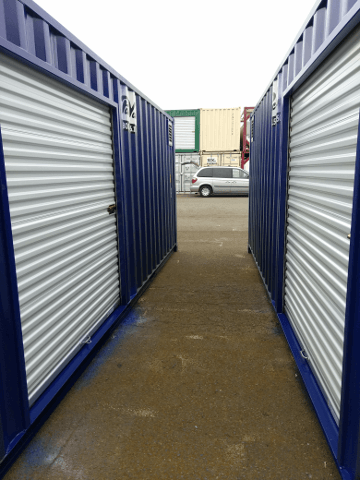6 foot shipping container rollup door