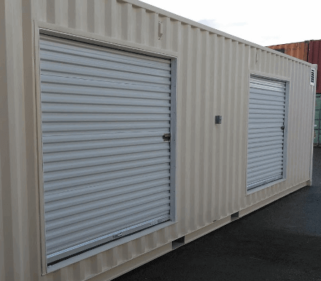 double door high cube shipping containers