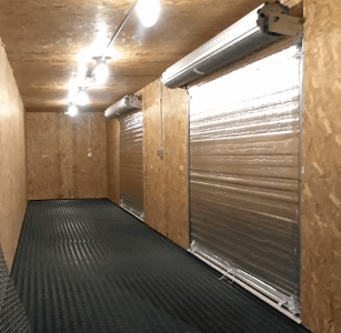 insulated  storage container roll up doors