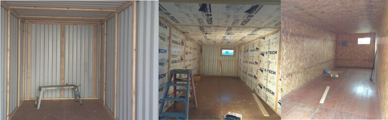 Shipping container insulation cheap and fast - How do you insulate a shipping container home ...