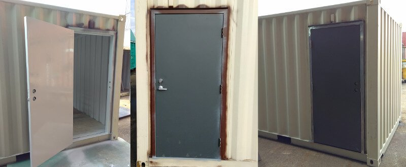 Shipping Container Man Door & Shipping container man door | Weld-n-go man door
