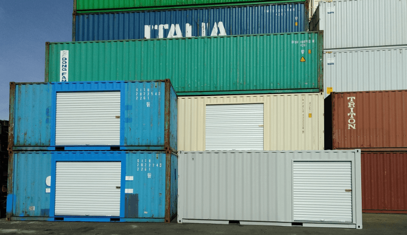 Shipping Containers Roll Up Doors