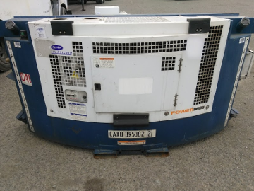 refrigerated shipping container clip on generator