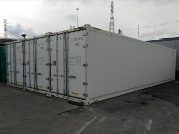 24' wide refrigerated shipping container set