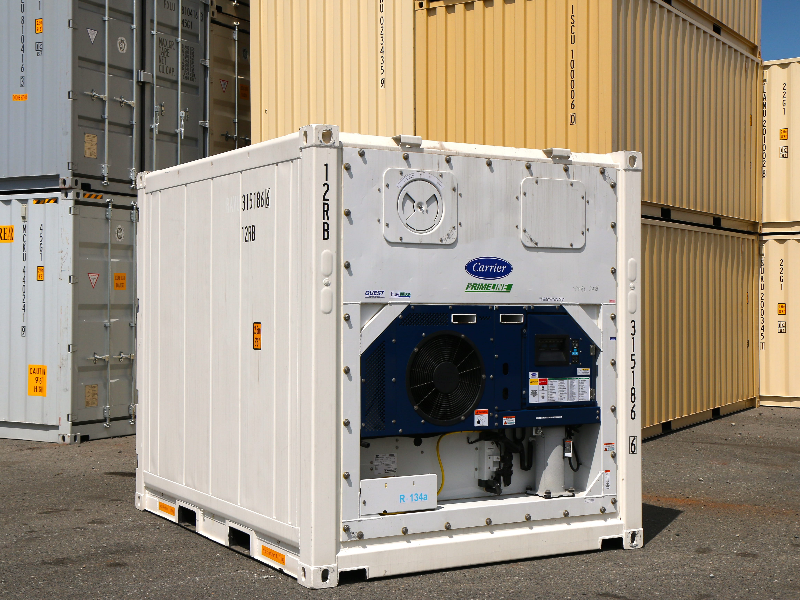 Refrigerated shipping container Cold storage container rentals