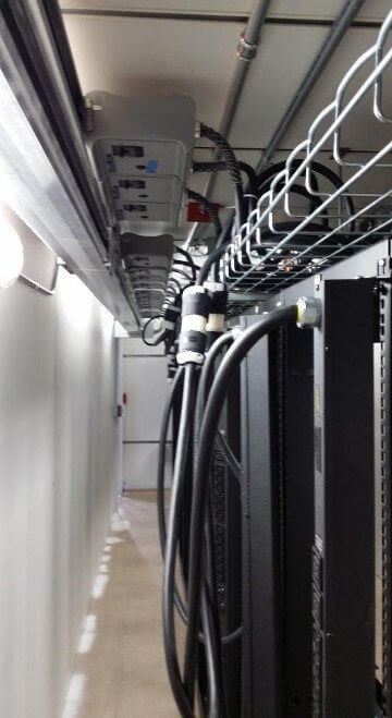 Shipping containers Server Room