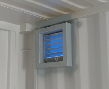 Shipping Container Louver Vent
