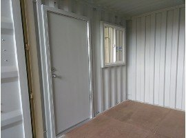 storage container man door