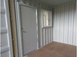 storage container man door