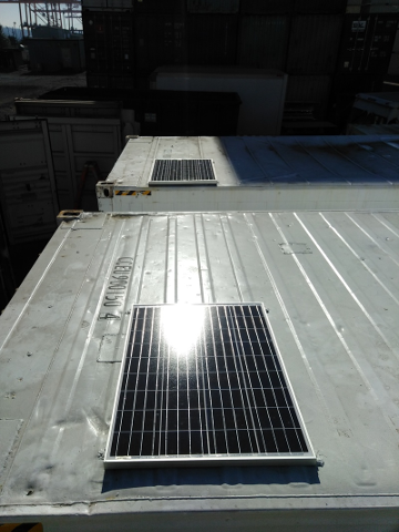 Shipping Container Solar Lighting Container Lighting Systems