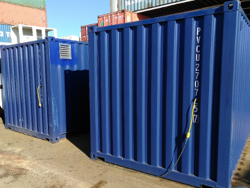 Shipping Container Tool Storage Pigtail