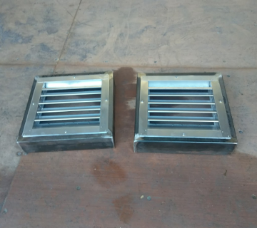 Shipping container vents kit