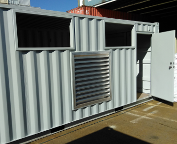 shipping container large vents