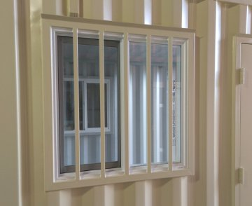 shipping container window kit