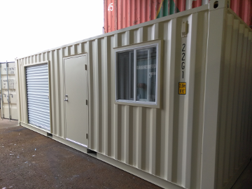Shipping Container With Side Doors Open Side Cargo Container