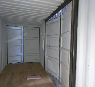 shipping container side door frame
