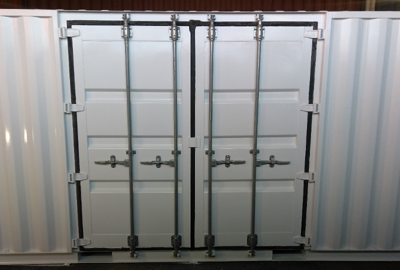 20 Foot Shipping Container Custom Side Doors