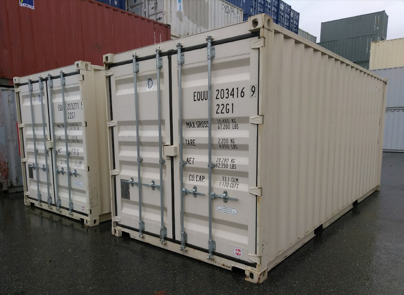 Standard Size Shipping Container