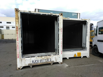 storage refrigerated shipping container
