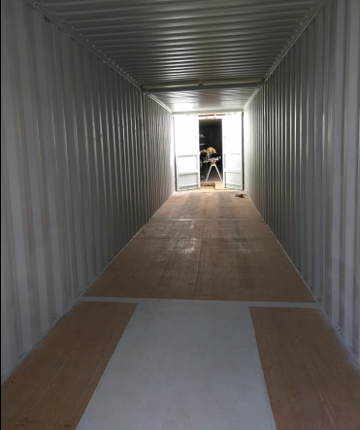 Storage Shipping Container Capacity