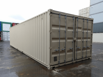 custom built shipping container